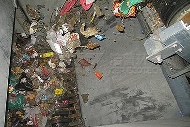 Проект по измельчению, разделению и удалению бытовых отходов в Шаньси