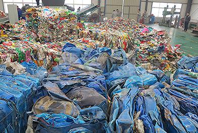 Проект производственной линии по переработке дробления пластиковых бочек