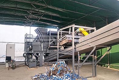 Проект по удалению крупногабаритных отходов в районе Минханг, Шанхай
