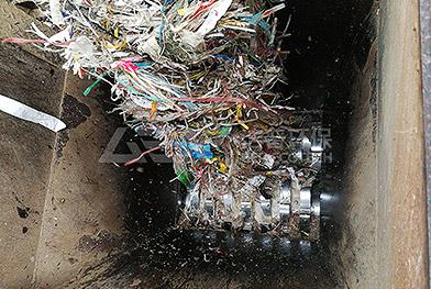 Проект по измельчению отходов бумажной фабрики в Хунани