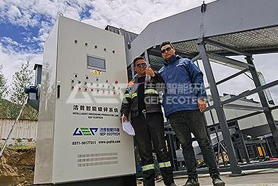 Линия по утилизации крупногабаритных отходов в Китае, Лхаса