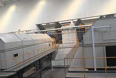 Проект системы измельчения и сортировки бытовых отходов в провинции Хэбэй
