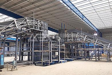 Крупномасштабный проект электростанции для измельчения биомассы
