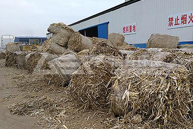 Проект измельчения соломы в северо-восточном Китае