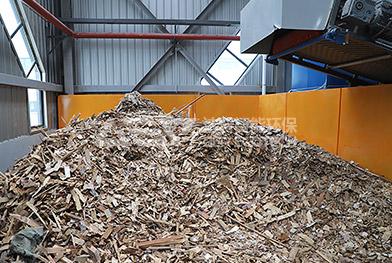 Линия по переработке крупногабаритных отходов в Чжэнчжоу в Китае