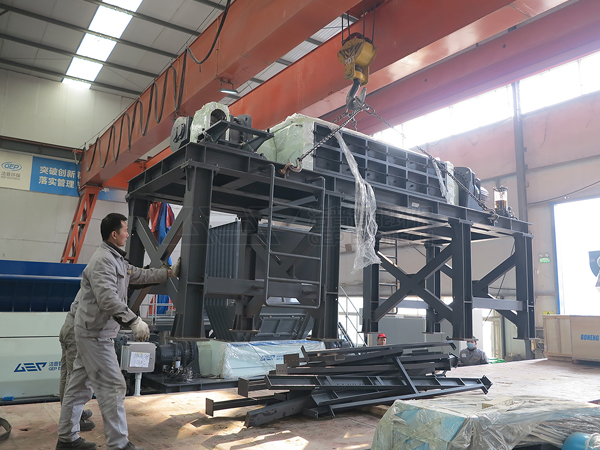 Отгрузка оборудования для утилизации крупногабаритных отходов GEP ECOTECH осуществляется централизованно!
