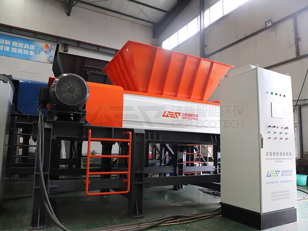 Оборудование GEP для предварительной обработки опасных отходов готово к отправке в Синьцзян