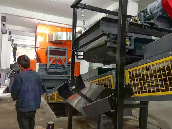 Интеллектуальная система измельчения и утилизации крупногабаритных отходов в Фуцзяне, Китай, официально запущена в производство