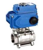 электрический регулирующий клапан высокого давления